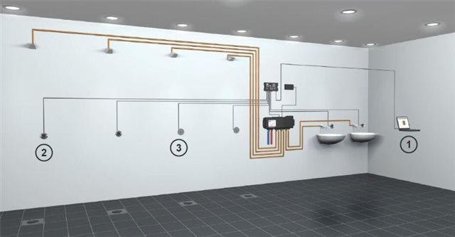 rada-outlook-thermostatic-mixing-valve-sensor-box-set-up-example