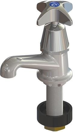 Enware Spring Loaded Basin Tap