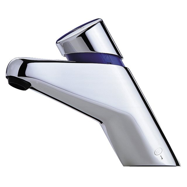 Presto Adjustable Time Flow Basin Tap