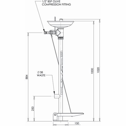 EEE210-Emergency-Eyewash-Pedestal-Mounted-Hand-Foot-Operated-LD