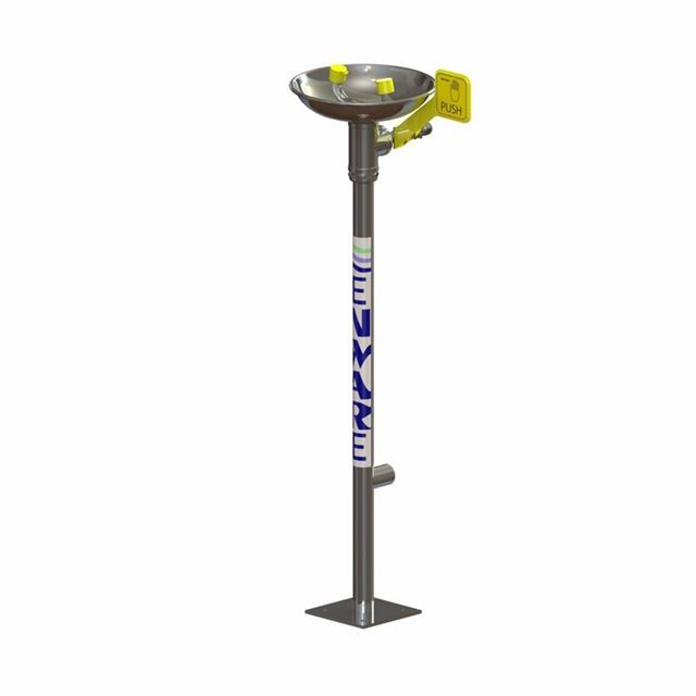 Eyewash Pedestal Mounted - Hand Operated