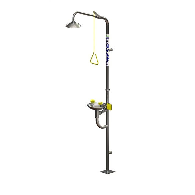 Enware Freestanding Shower With Hand Operated Eye Face